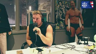 Pat McAfee reacts to Johnny Gargano's shocking change of heart