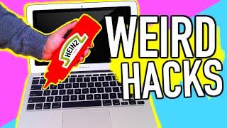 Weird life hacks EVERYONE should know!