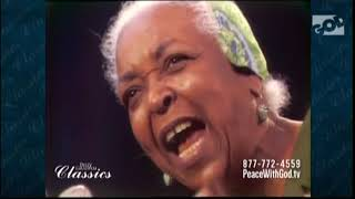 Ethel Waters--He's With Me Each Step of the Way, Texas Stadium TV