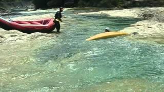 ラフティング水上(夏) シットオンカヤック