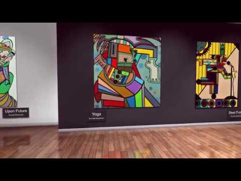 Ruchell Alexander,  Neo-Cubist Artist