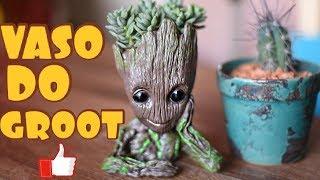 Vaso do Groot Para Cactos e Suculentas