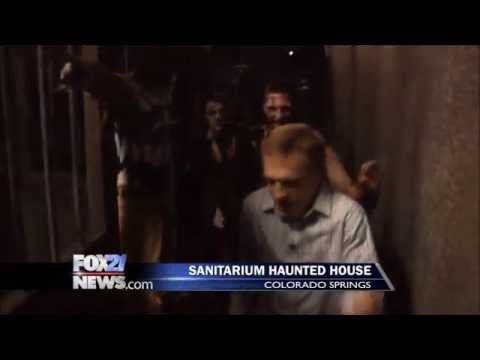 Sanitarium Haunted House In Colorado Springs