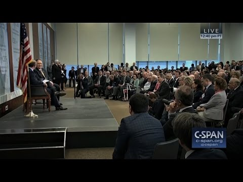 Highlights from Mike Pompeo's WikiLeaks Centered Talk at CSIS | April 13th, 2017