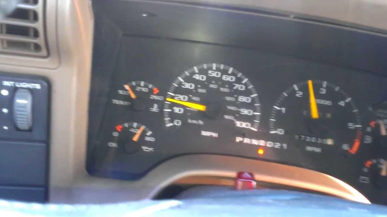 95 Blazer hard shift 2nd gear