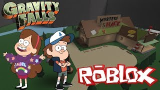 ROBLOX-GRAVITY FALLS (ONLINE MULTIPLAYER)-VISITING THE MYSTERY HUT