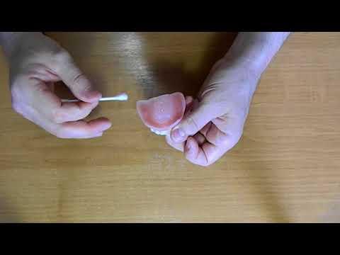 Как пользоваться кремом корега для протезов видео