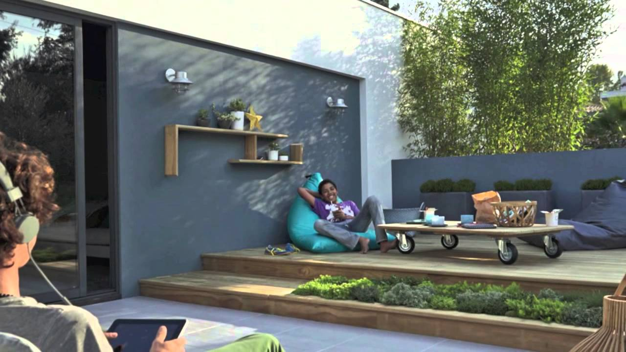 mobilier de jardin en 2014 par leroy merlin garden furnitures in 2014 by leroy merlin youtube. Black Bedroom Furniture Sets. Home Design Ideas