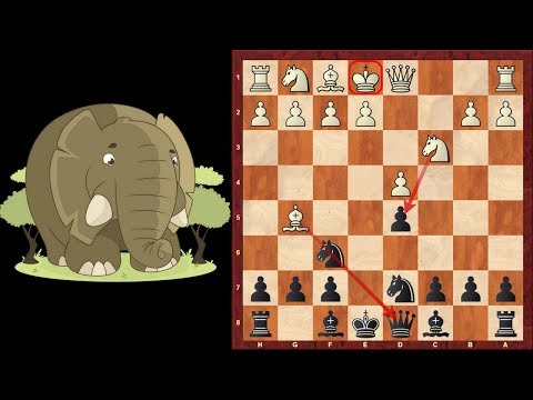Chess Opening Traps #2: Elephant Trap in the Queens Gambit ...