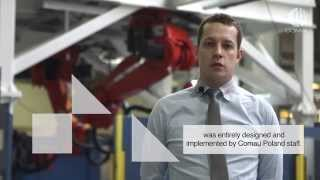 Comau Robotized Spot Welding Cell in Henschel Engineering Automotive