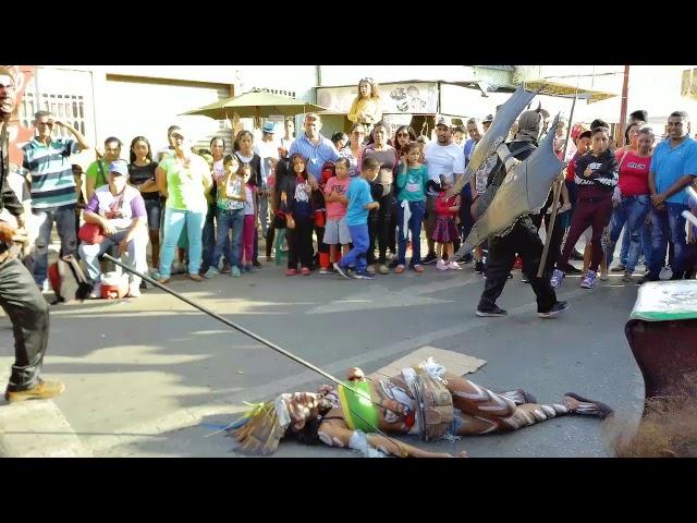 Los Diablitos el martes de Carnaval en Carúpano
