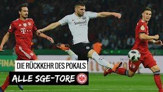 DFB-Pokalfinale 2018: Alle Eintracht-Tore