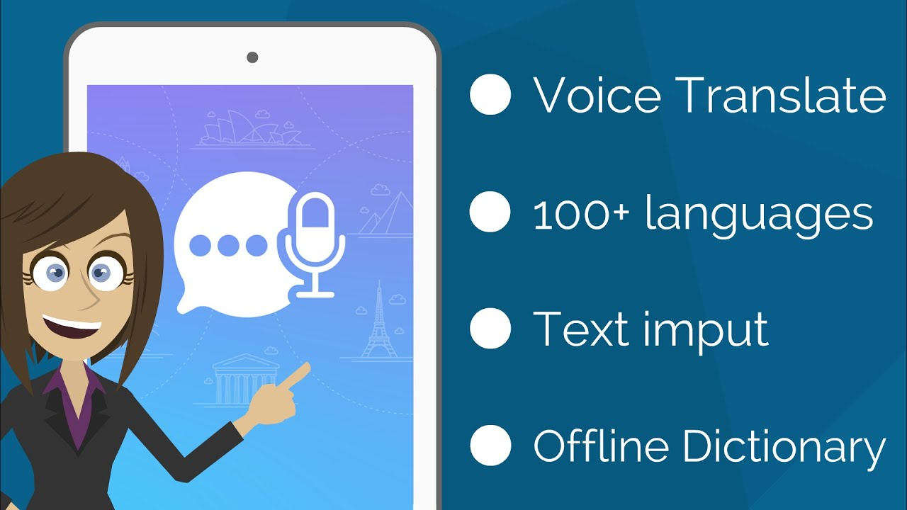 Voice Translator with Offline Dictionary - Speak and Translate Foreign  Languages Instantly