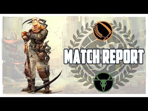 Guild Ball Match Report: Farmers vs. Hunters!!