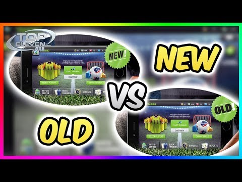 ⚽ NEW TRAINING vs OLD TRAINING !! 💯| Top Eleven 2018