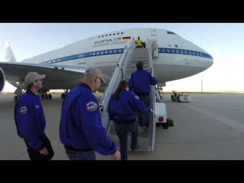 Airborne Astronomy Ambassadors Explore with SOFIA, Oct. 19, 2016