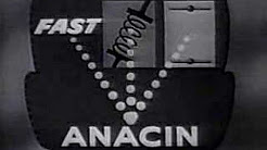 Vintage Anacin Pain Reliever Commercial