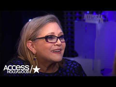 Carrie Fisher On Why She Came Back For 'Star Wars: The Force Awakens' | Access Hollywood