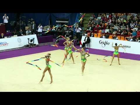 Команда России, ленты. Гран При 2016. Художественная гимнастика