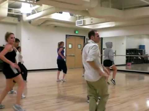 Tari Mannello Hip-Hop choreography class at Cal Lutheran University
