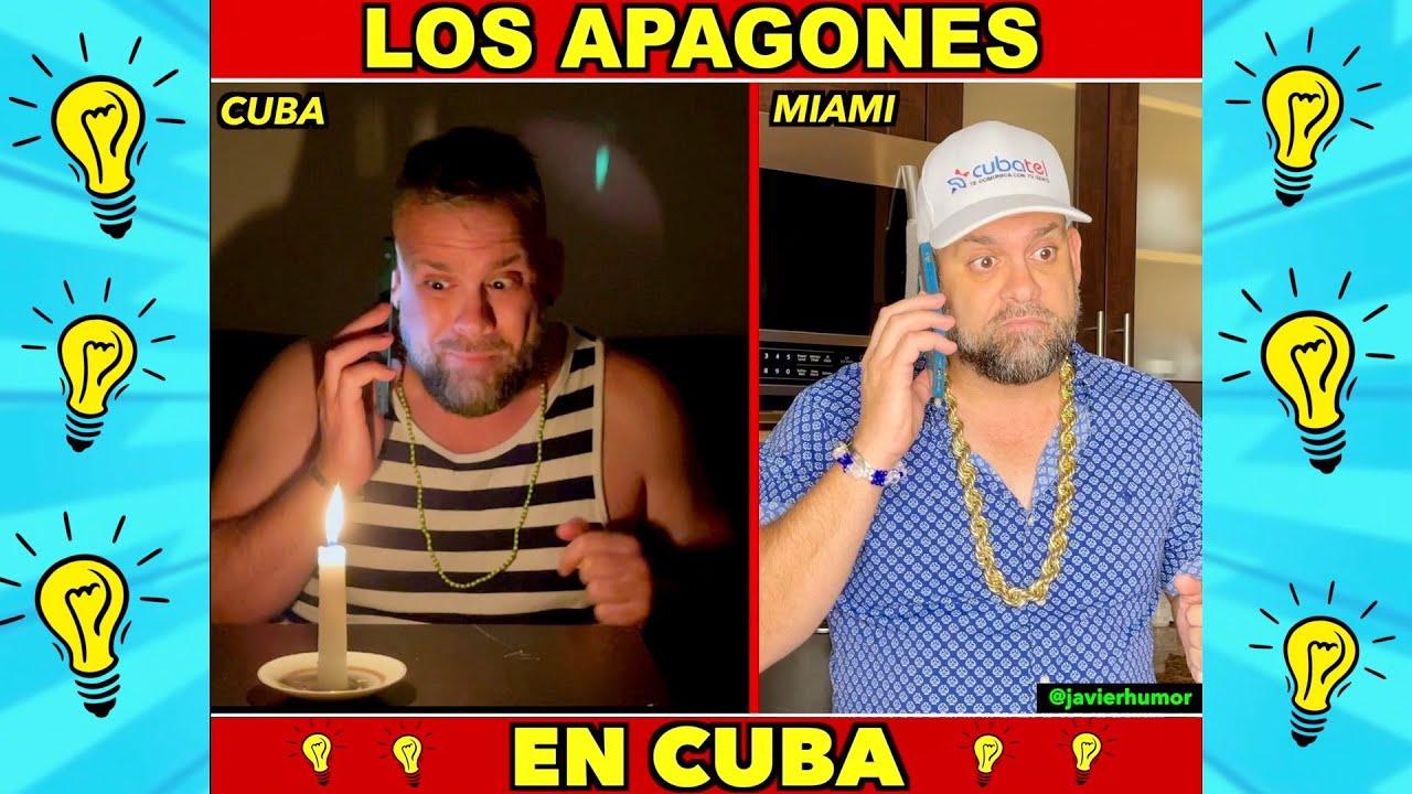 LOS APAGONES EN CUBA (Humor)