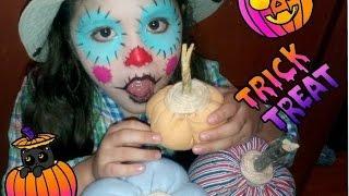 Maquillaje para niños fasil espantapajaros, Scarecrow kids