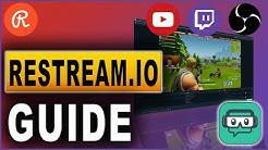 Restream.io GUIDE: Streamen auf Twitch & YouTube parallel