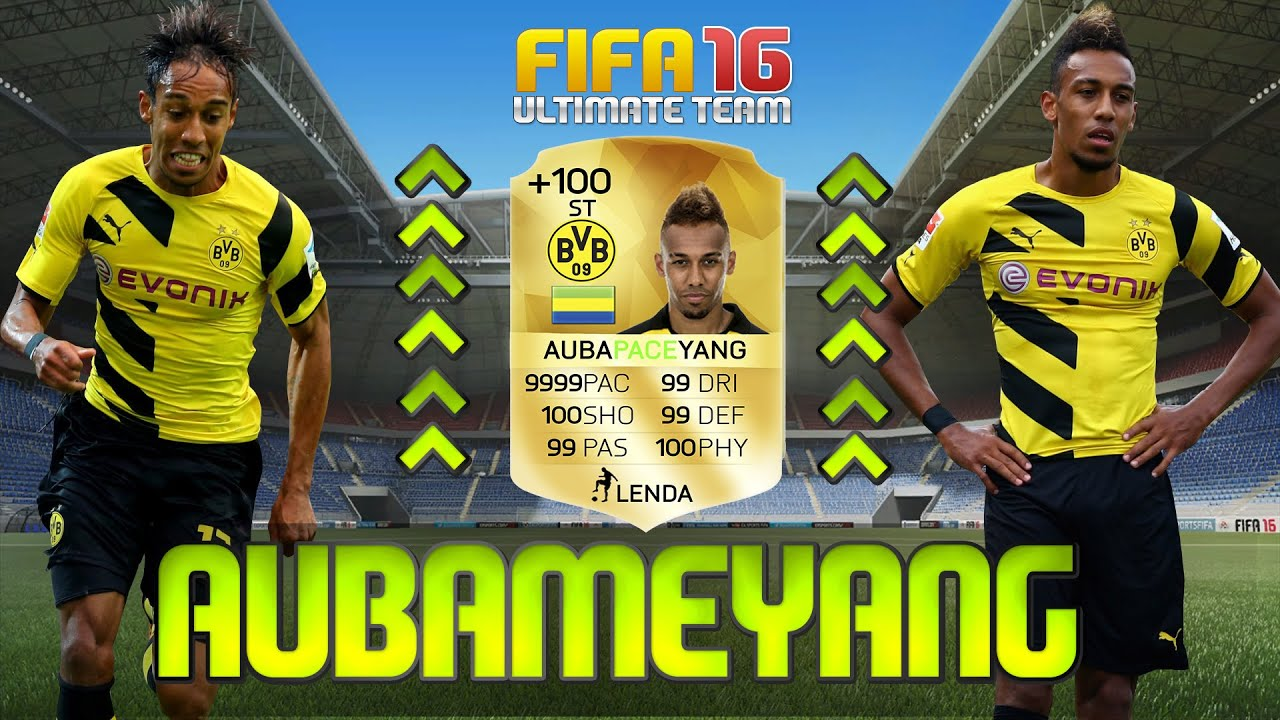 Aubameyang Fifa 16