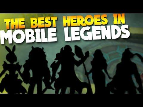 TOP 5 BEST Heroes in Mobile Legends 2018