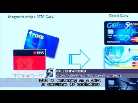 DBS, POSB phasing out magnetic stripe ATM cards by end 2014 - 29Aug2013