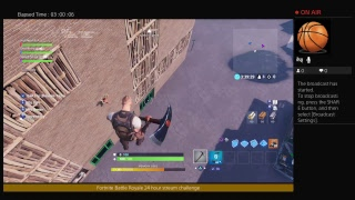 Fortnite OMG gameplay 24 hour challenge