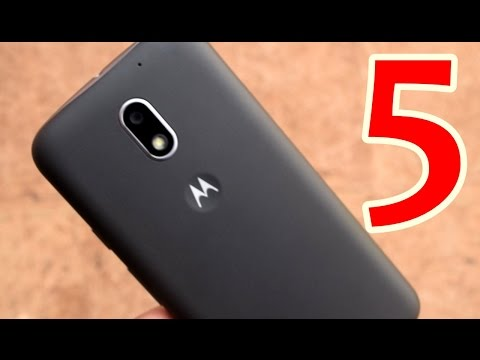 Top 5 Features Of Moto E3 Power