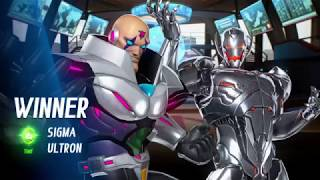 MARVEL VS CAPCOM INFINITE PS4 Arcade Mode Team Sigma and Ultron on Hard Difficulty