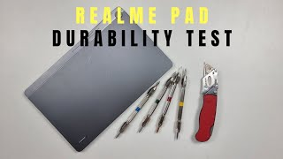 First Android Tablet from realme - Durability Test realme Pad !