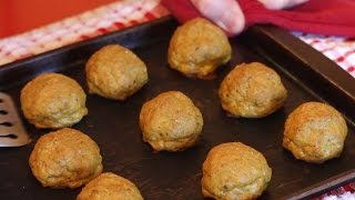 Canned Salmon Recipe -- Salmon Meatballs