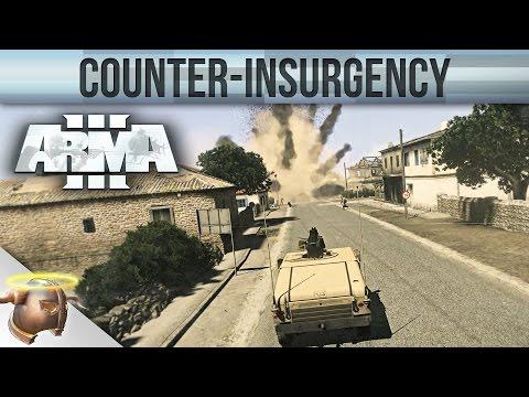 "ARMA 3 COUNTER-INSURGENCY   Custom mission ""-BTC- Hearts & Minds"""