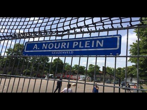 Voetbalpleintje Geuzenveld omgedoopt tot A. Nouri-plein