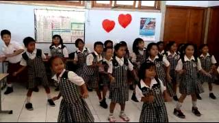 Senam untuk anak SD kelas gerak ritmis