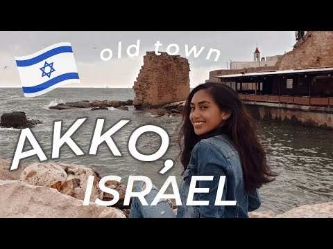 OLD TOWN AKKO, ISRAEL 🇮🇱 | Solo Travel Girl