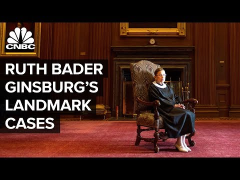 Ruth Bader Ginsburg's Women's Rights Cases Centered On Money