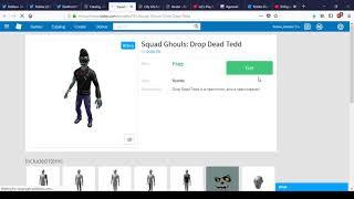 Como obter Ghouls Squad: Drop Dead Tedd | Atualização Roblox Rtho.