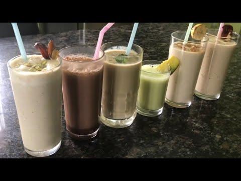 6 Healthy Breakfast Smoothie Recipes | Healthy Breakfast Ideas | Smoothie Recipes In Tamil
