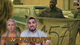Fear The Walking Dead Season 4 Episode 7 'The Wrong Side of Where You Are Now' REACTION!
