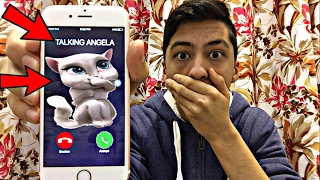 TALKING ANGELA CALLED ME AND I *ANSWERED OMG*