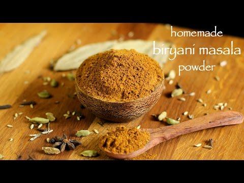 Biryani Masala Recipe - How To Make Homemade Biryani Masala Powder