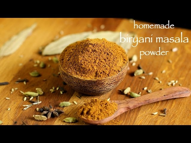 Indian spice powder recipe