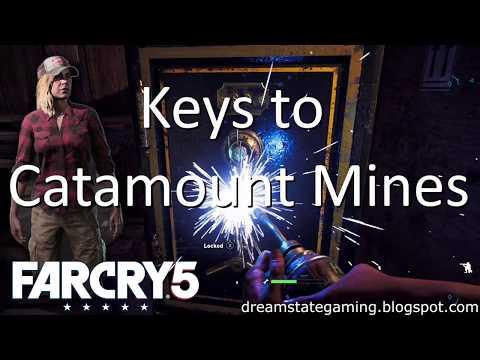 Far Cry 5 - Keys To Catamount Mines