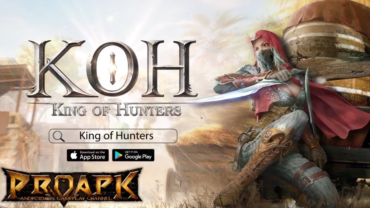 King Of Hunters Gameplay Android / iOS (by NetEase Games) (Battle Royale)
