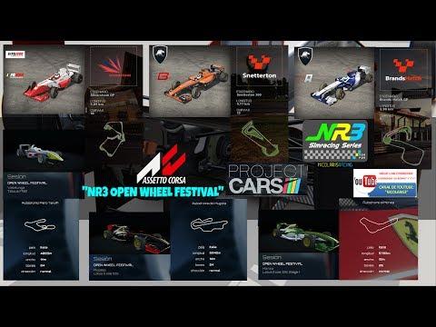 """PROJECT CARS (emisión """"on board"""") -- FORMULA GULF 1000: """"NR3 OPEN WHEEL FESTIVAL"""" (SILVERSTONE GP)"""