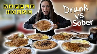 Our First Time Trying Waffle House